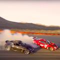 【動画】日産370Zと夢の共演!トヨタ4586、初サーキットで魅せたドリフト・ランデブー!