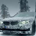 公開直前!BMW アルピナ B5 ビターボ セダン、開発プロトタイプを公開