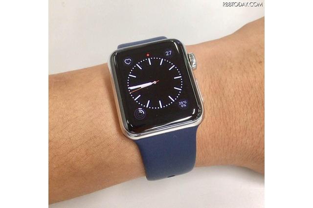 【Apple Watch Series 2レビュー Vol.1】GPSの搭載でたしかに進化! アクティブ志向なユーザー待望のウェアラブルに 画像