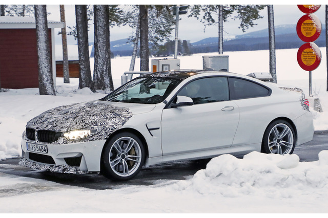 BMW・M4にさらなるハイスペックモデル!520馬力の「クラブスポーツ」を初キャッチ 画像
