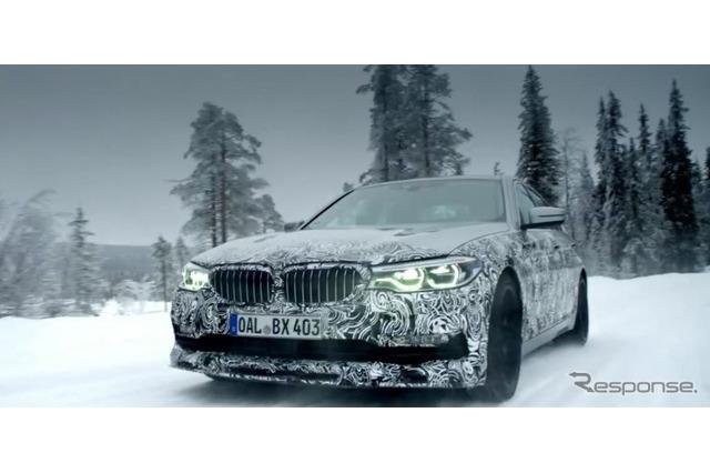 公開直前!BMW アルピナ B5 ビターボ セダン、開発プロトタイプを公開 画像