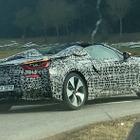 ついに市販化だ!BMW i8ロードスター量産モデル、これが初生ショット! 画像