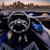 レクサス近未来コックピットだ!新型SUV「UXコンセプト」インパネ初公開 画像