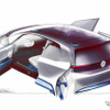 VW新型EV、ドアの秘密をスケッチで予告! 画像