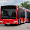 日本導入!オシャレ過ぎる連節バス、メルセデスベンツ「シターロG」 画像
