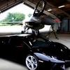 【動画】異種格闘技頂上決戦!アヴェンタドール vs F16戦闘機 画像