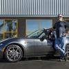 米国第一号車をゲッツ!マツダマニアの顧客へ納車 画像