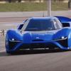 【動画】青い稲妻...これが世界最速EVモンスター「NIO EP9」!ニュルでワールドレコード 画像