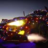 【動画】サンタも興奮!フェラーリ・チューンの電飾トヨタ86、爆走&ドリフト披露 画像