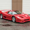 フェラーリ F50史上2番目の高値!? マイク・タイソンの愛車がオークションに! 画像