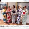 潮田玲子、インスタで艶やかな浴衣姿を公開 画像