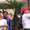カトパン、長友佑都とアサヒ オフ新テレビCMをイタリアで撮影 画像