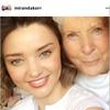 ミランダ・カー、美しさの秘密は最強の遺伝子にあった! 画像