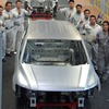 VW 、新型ティグアンの3列シート・ホワイトボディを先行公開 画像