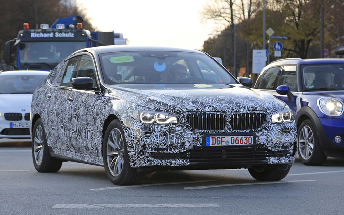 BMW「5シリーズGT」改め、「6シリーズGT」2017年誕生へ! 画像
