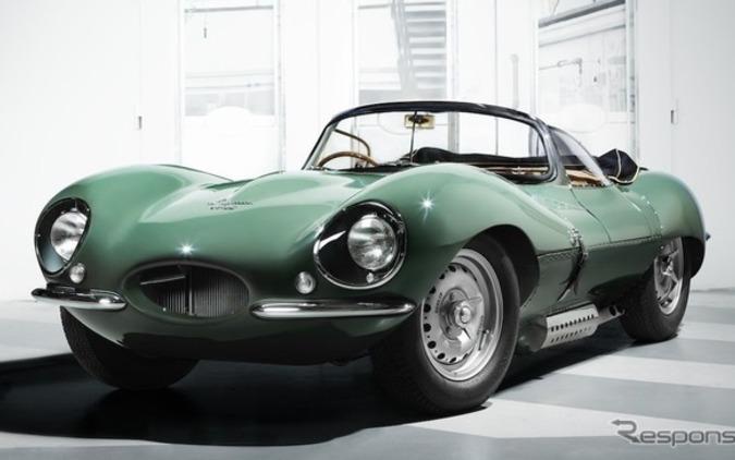 ジャガー1957年の名車「XKSS」、復刻版を初公開! 画像