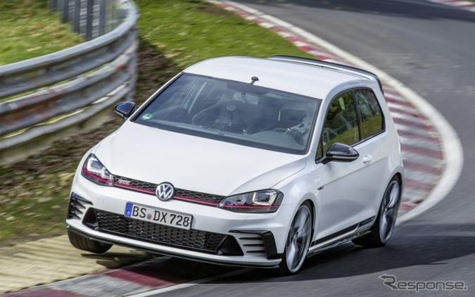 VW「ゴルフ GTI」が更なる進化...ニュルで2秒記録更新にシビック タイプRどうする? 画像