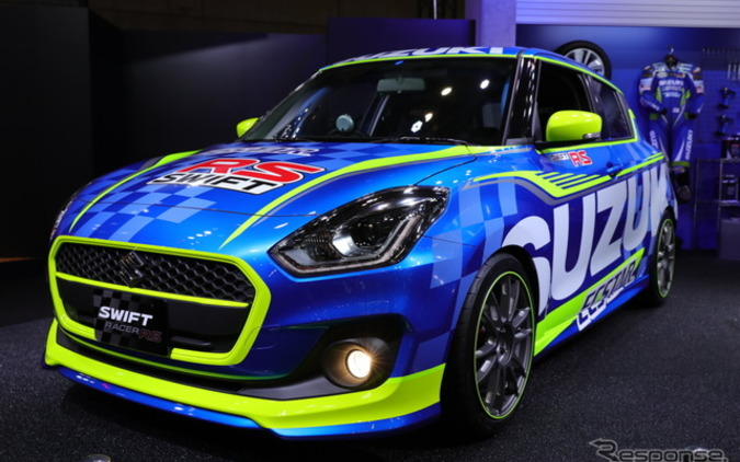 スズキ、スイフト新型に高い走行性能「レーサーRS」...運転する楽しさを! 画像