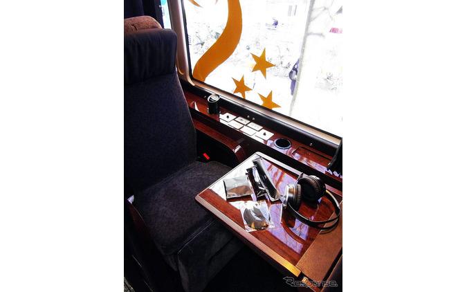 もはや動くホテル...片道2万円の長距離バス、1月18日からGO! 画像