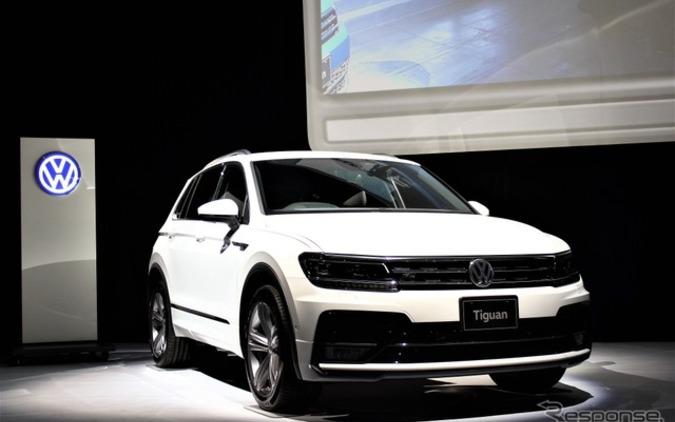 VWティグアン新型、ネット接続性を高め新世代SUVを牽引する 画像
