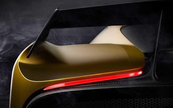 PS4でも使える!ピニンファリーナ次世代スーパーカー、3月ジュネーブで初公開へ 画像