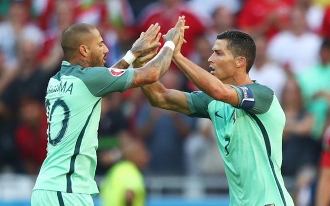 C・ロナウド、EURO史上初の4大会連続ゴール達成! 画像
