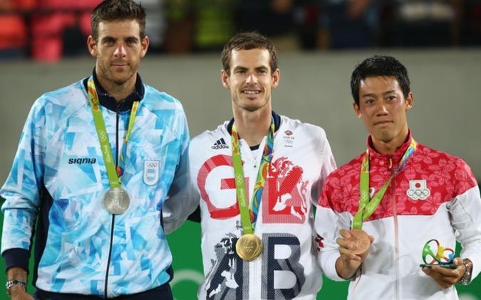 【リオ2016】錦織圭が快挙!テニス96年ぶりのメダル獲得に各界からも祝福の声 画像