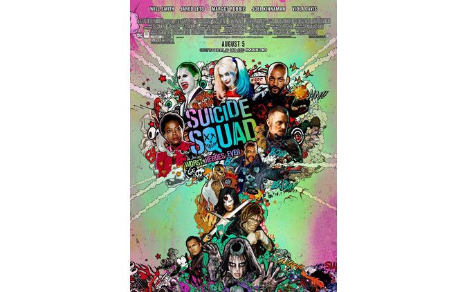 【予告編】まさかのジョーカー復活!?DCコミック最新実写映画『スーサイド・スクワッド』最新ポスター25点&動画 画像