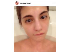 マギー、入浴中の顔が可愛いと話題に! 画像