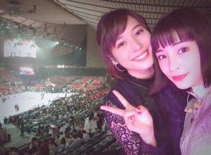 広瀬アリス&すず、Bリーグ開幕に興奮「やばーい!」 画像