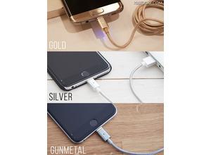 iPhone/Androidに対応!抜けても安心なマグネット式のスマホ充電ケーブル 画像