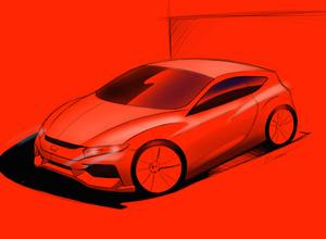 ホンダCR-Z次世代型、Type Rの2リットルVTECターボ搭載か!? 画像