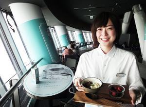 """東京スカイツリー地上340mで、佐藤麻里子と""""眺食""""で「ほわっ」体験 画像"""