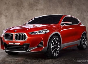 BMW『X2』初公開!エキサイティングなクーペSUV誕生 画像