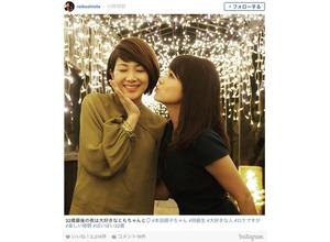 潮田玲子、32歳最後の夜を共に過ごした美女とは? 画像