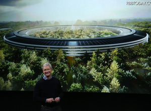 "Appleの""宇宙船型""新本社キャンパス、着々と建設が進行中! 画像"
