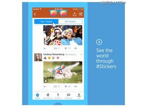Twitterに新機能!「ステッカー」で画像加工&検索が簡単に 画像