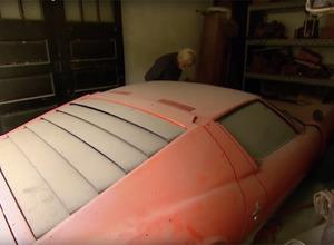 【動画】ランボルギーニ・ミウラ、40年の眠りから蘇る! 画像