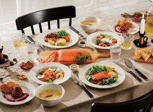イケアレストラン&カフェでサーモンづくしのスペシャルコースを提供中! 画像