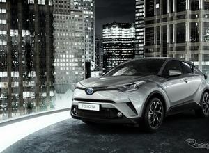 トヨタ、C-HR欧州モデルのインテリアデザインを公開 画像
