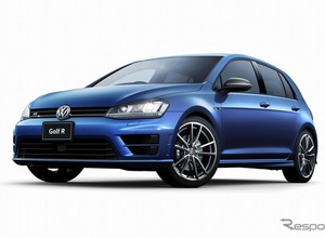 100台限定!VWゴルフR、シックで上質な「カーボンスタイル」発売 画像