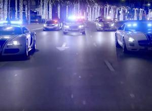 【動画】豪華過ぎる!世界最強ドバイ警察、スーパーカー軍団PVだ 画像