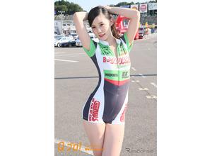 【レースクィーン】鈴鹿8耐『B-SQURE RACING & TEAM 能塚 RQ』 画像