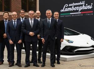 ランボルギーニ、未来のスーパーカー開発へマサチューセッツ工科大学と提携発表 画像