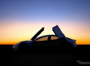 見えたシルエット!BMW「Z8」デザイナーが仕掛ける新型EV予告イメージ 画像