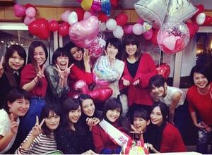 波瑠、佐藤ありさのお祝いパーティー…桐谷美鈴・武井咲・大政絢も集合 画像