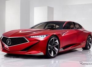 アキュラ次世代コンセプトカー、LAで初公開へ! 画像