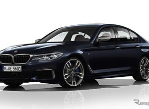 BMW 5シリーズ新型、462馬力の最強「M550i xDrive」を投入へ! 画像
