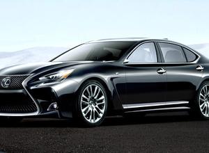 レクサス LS 次期型のデザインはこれだ! 620馬力の高性能「LS F」 画像