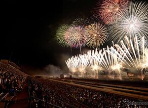 「花火の祭典 冬」はツインリンクもてぎ開業20周年 1月2日 画像
